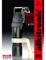 Dreh- /Hochmomentschrauber EF