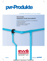 Rohrleitungssysteme PVC
